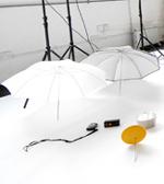 1 Elinchrom Silver Umbrella