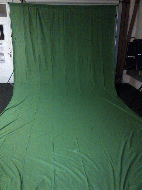 Chroma Key Green Screen and Frame